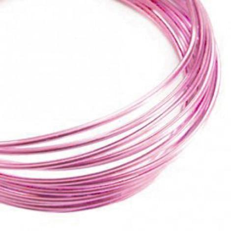 Filo alluminio tondo liscio Ø 2 mm - Rosa