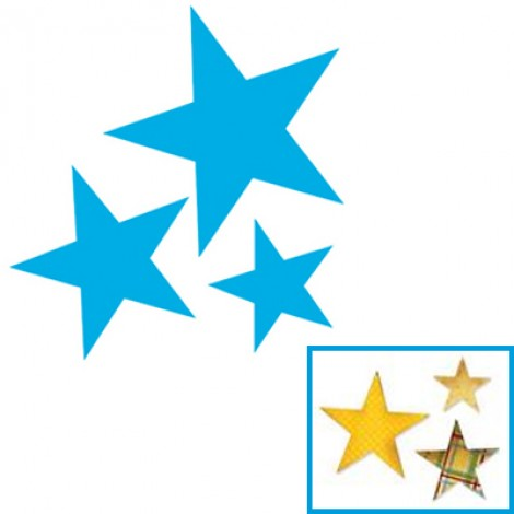Fustella per Big Shot Sizzix stelle