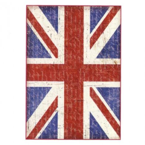 Carta di riso bandiera UK