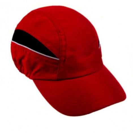 Cappellino da Baseball in microfibra, regolabile con fermocorda. Confezione da 10 pezzi.