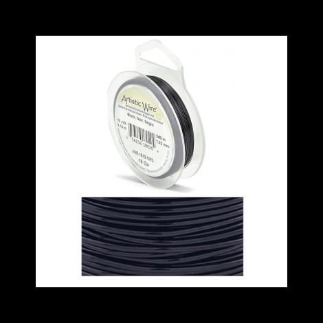 Filo Artistic Wire Nero - Ø 1.02mm - 9m