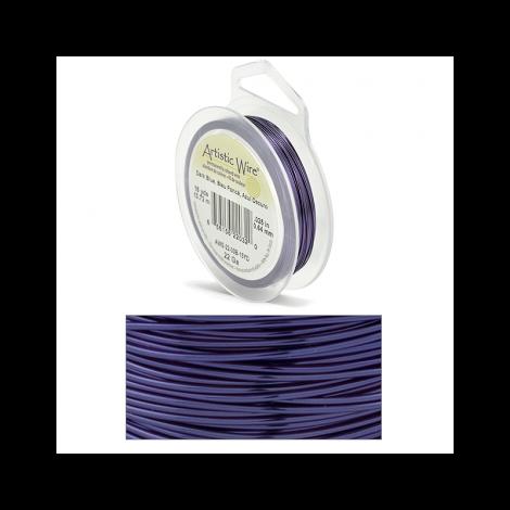 Filo Artistic Wire Blu Scuro - Ø 0.64mm - 13.7m