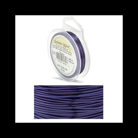Filo Artistic Wire Blu Scuro - Ø 1.02mm - 9m
