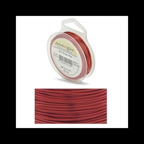 Filo Artistic Wire Rosso - Ø 0.81mm - 13.7m