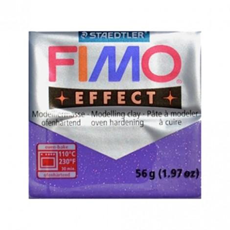 FIMO EFFECT GLITTER LILLA 602 - 56 GR