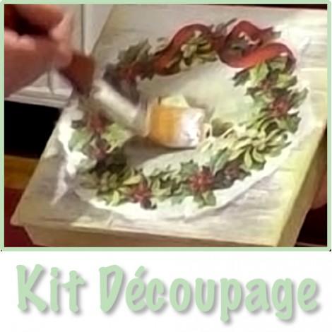 Kit dècoupage
