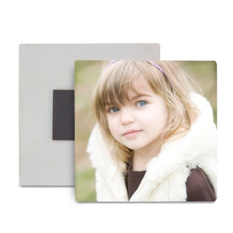 Magnete in Poliestere e Resina Quadrato - Confezione 10 pezzi