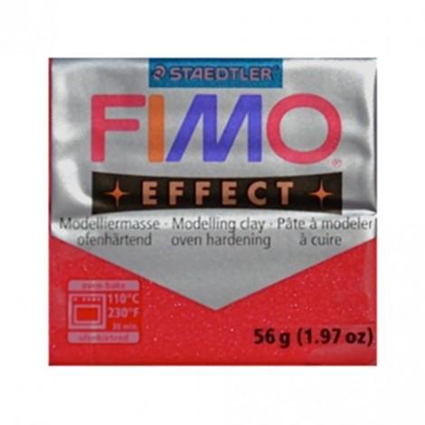 FIMO EFFECT METALLIC RUBINO 28 - 56 GR