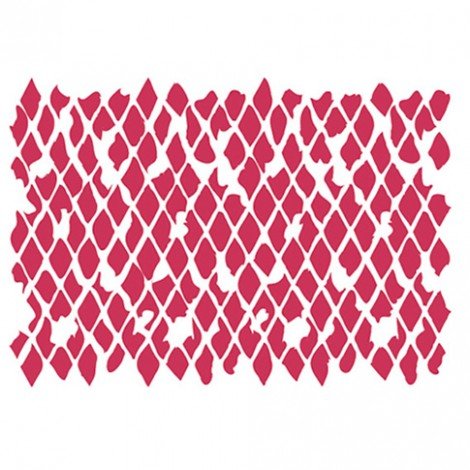 STENCIL 20x15 CM - TEXTURE RETE