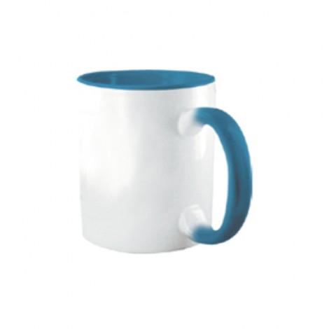 Tazza Colorata Azzurro - Confezione da 12 Pezzi