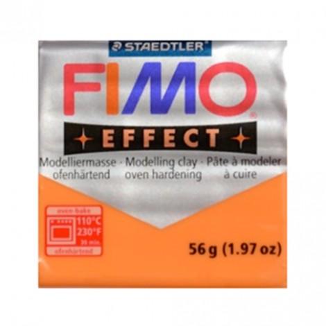 FIMO EFFECT TRASPARENTE ARANCIO 404 - 56 GR