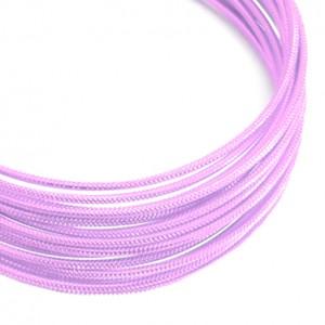 Filo alluminio tondo zigrinato Ø 2 mm - Rosa