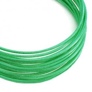 Filo alluminio tondo zigrinato Ø 2 mm - Verde scuro