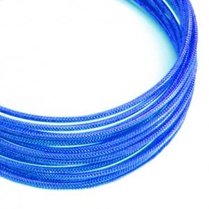Filo alluminio tondo zigrinato Ø 2 mm - Blu Royal