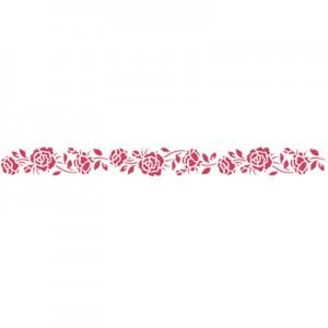 Stencil stamperia rose per decoupage