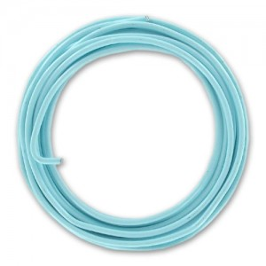 Filo alluminio tondo liscio Ø 2 mm - Azzurro pastello