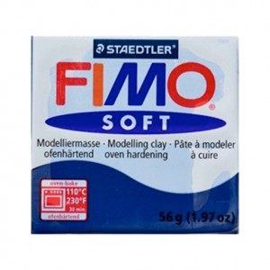 FIMO SOFT BLU WINDSOR 35 - 56 GR