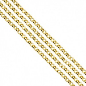 Catena rolò colore oro 2.5 mm - 1 mt