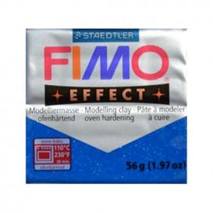 FIMO EFFECT GLITTER BLUE 302 - 56 GR
