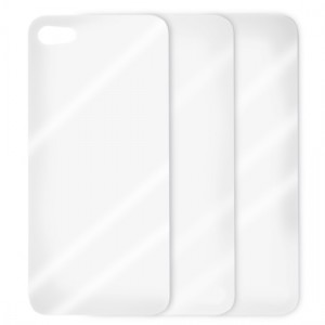 Piastrina bianca di ricambio per cover - Samsung Galaxy S4