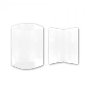 Scatolina regalo in cartoncino Bianco 7x7.5x2.3