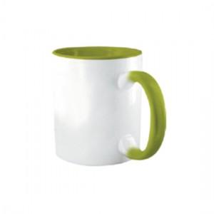 Tazza Colorata Verde - Confezione da 12 Pezzi