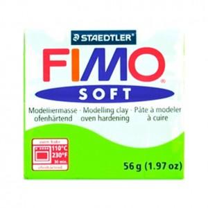 FIMO SOFT VERDE MELA 50 - 56 GR