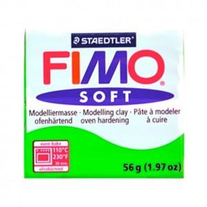 FIMO SOFT VERDE TROPICALE 53 - 56 GR