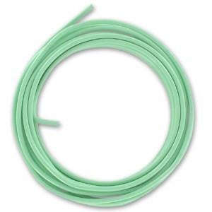 Filo alluminio tondo liscio Ø 2 mm - Verde menta pastello