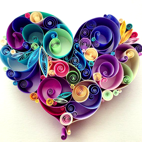 Quilling love