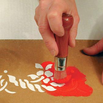 Decorazione con Stencil
