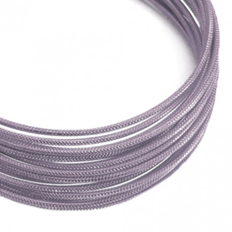 Filo alluminio tondo zigrinato Ø 2 mm - Lavanda