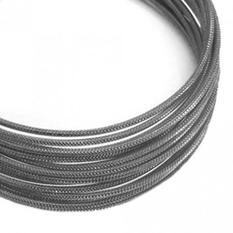 Filo alluminio tondo zigrinato Ø 2 mm - Grigio