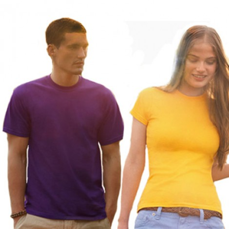 TShirt Fruit of the Loom Valueweight. Confezione 12 pezzi.