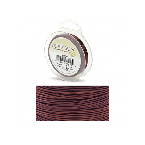 Filo Artistic Wire Marrone Ø 0.64mm - 13.7m