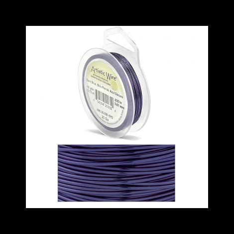 Filo Artistic Wire Blu Scuro - Ø 0.81mm - 13.7m