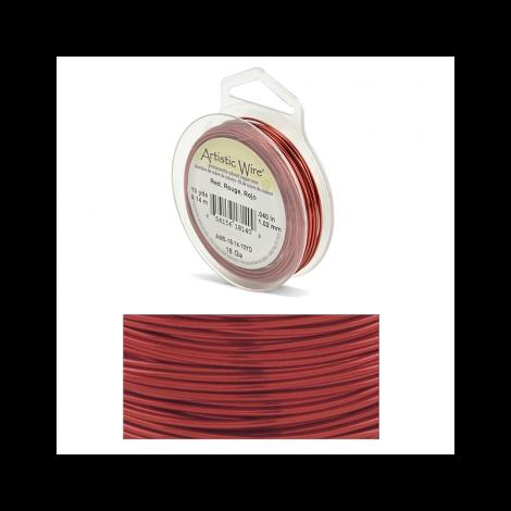 Filo Artistic Wire Rosso - Ø 1.02mm - 9m