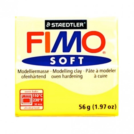 FIMO SOFT GIALLO LIMONE 10 - 56 GR