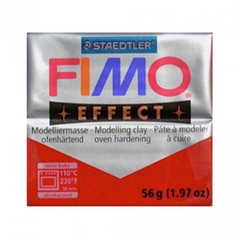 FIMO EFFECT GLITTER ROSSO 202 - 56 GR