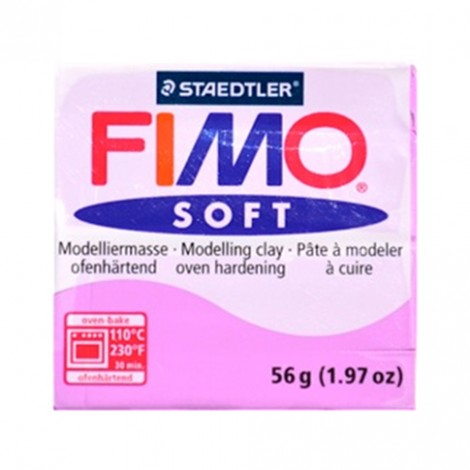 FIMO SOFT LAVANDA 62 - 56 GR
