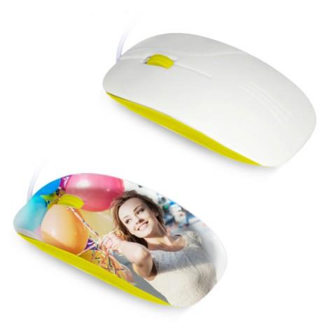 Mouse per sublimazione 3D - Giallo