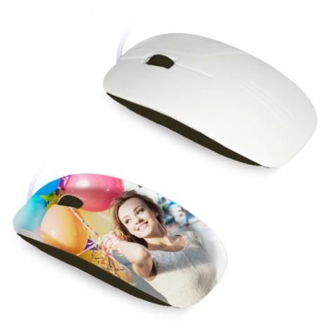 Mouse per stampa in sublimazione 3D - Nero