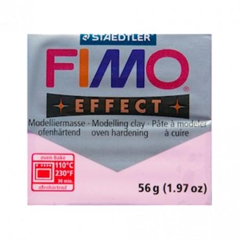 FIMO EFFECT PASTELLO ROSA 205 - 56 GR