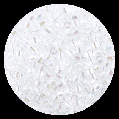 Perline in vetro Miyuki Delica Crystal ab 11/0 - 10g