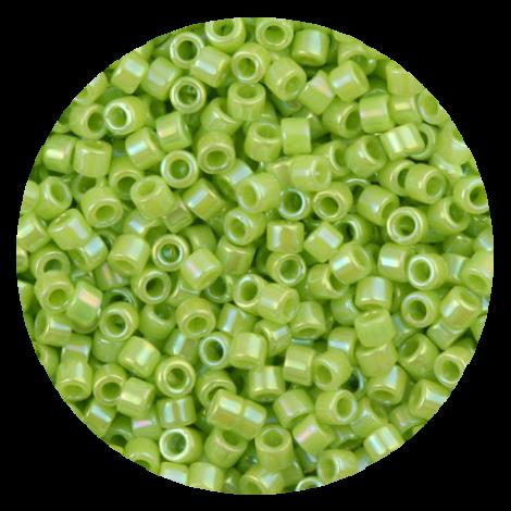 Perline in vetro Miyuki Delica Opaque Chartreuse ab 11/0 - 10g