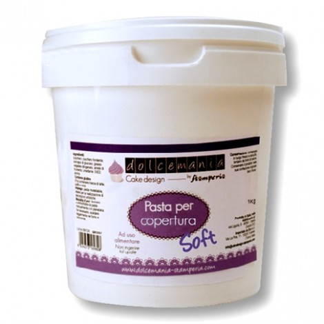 Pasta di zucchero per copertura bianca 1 kg