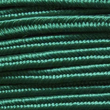 Fettuccia soutache verde bottiglia
