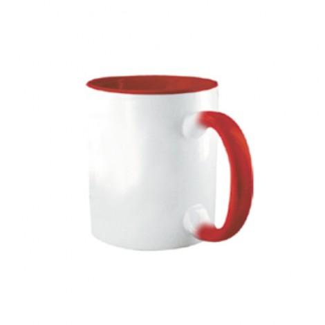 Tazza Colorata Rosso - Confezione da 12 Pezzi