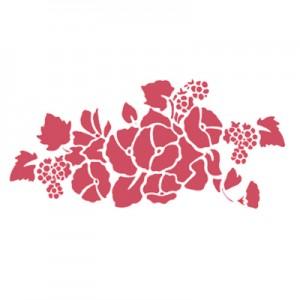 Stencil mascherina Stamperia Campanelle per decoupage