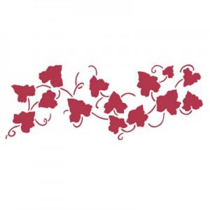 Stencil stamperia bordura edera per decoupage